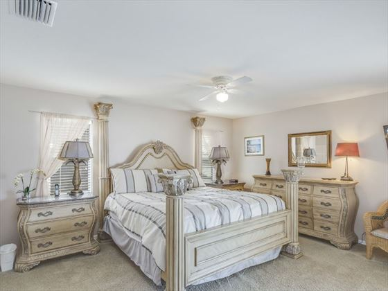 Example of a Fort Myers Area Home - Master Bedroom