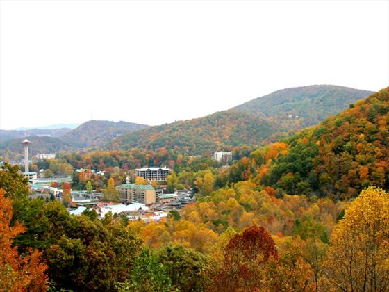 View of Gatlinburg