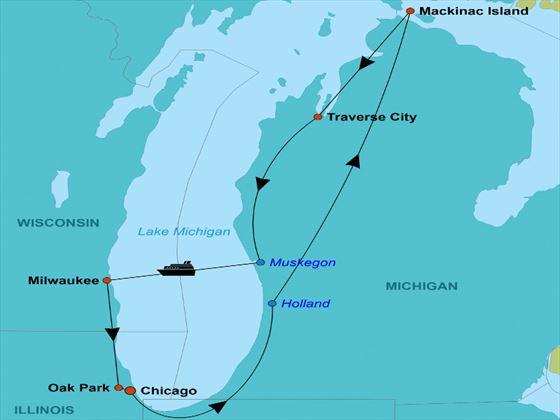 Las Vegas Excursions >> Great Lakes Explorer Small Group Tour   American Sky