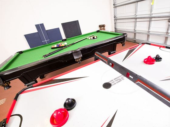 Example of High Grove Homes  - Private Games Room