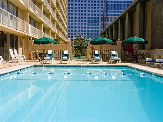 Holiday Inn Civic Centre pool area
