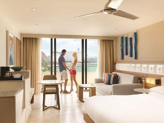 Ocean View King room at Hyatt Ziva Cancun