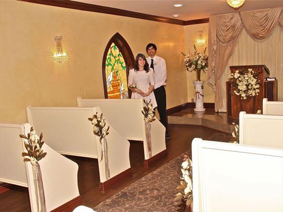 Graceland Chapel interior