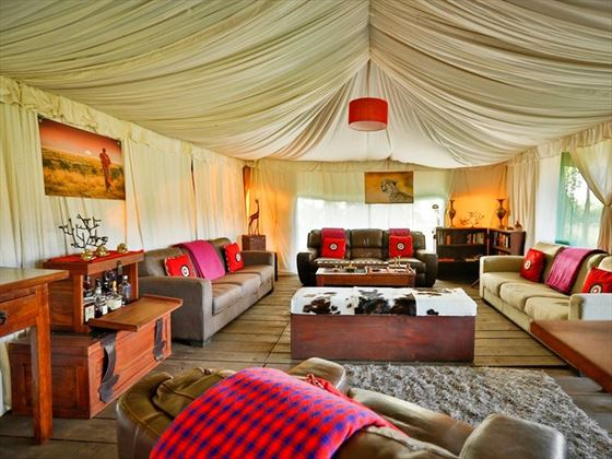 Lemala Ngorongoro Mess Tent