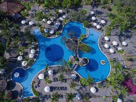 Melia Bali Main Pool