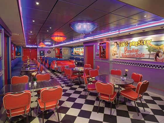 NCL Pride of America, Cadillac diner