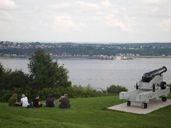 Plains of Abraham, National Battlefields Park, Quebec