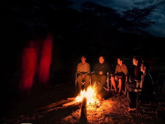 Porini Mara Camp Fire