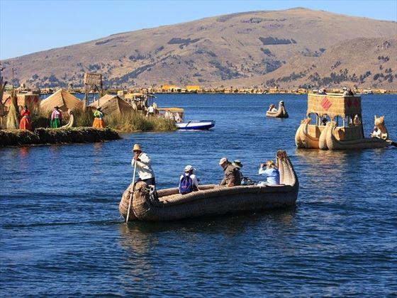 Puno Uros, Titicaca Lake