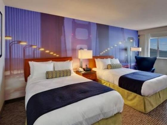 Double Guest Room at Hotel Zephyr