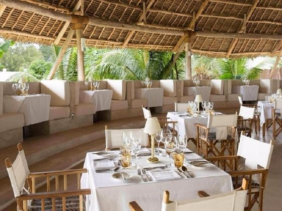 Restaurant at Gold Zanzibar Beach House & Spa