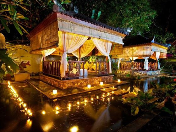 Romantic Pavilion at the Spa Resort