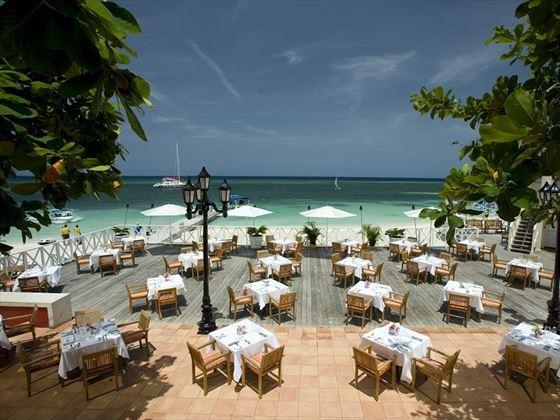Bayside restaurant at Sandals Montego Bay