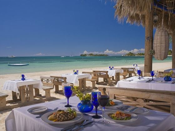 Barefoot restaurant at Sandals Negril Beach Resort and Spa