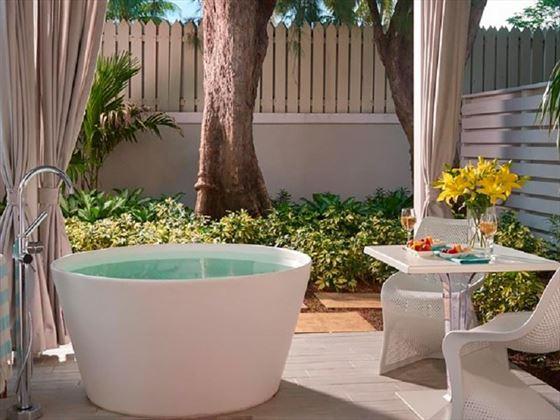 Royal English Club Level Junior Villa Suite at Sandals Royal Bahamian Spa Resort