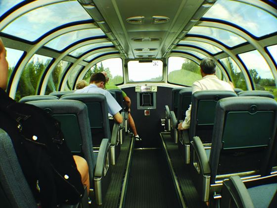 VIA Rail, Dome car