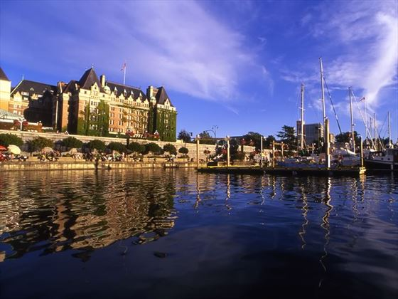 The Fairmont Empress Hote, Inner Harbour, Victoria