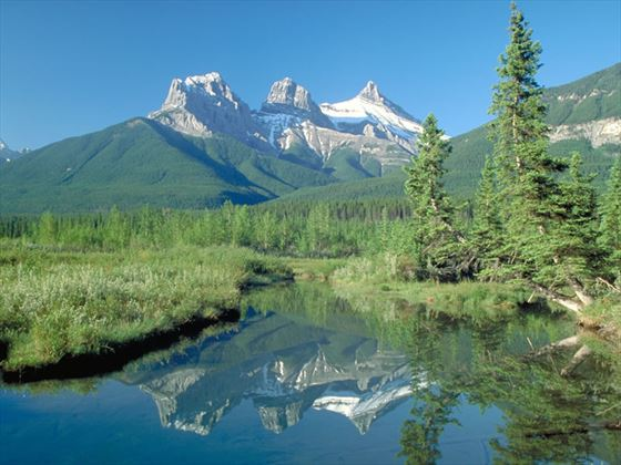 Three Sisters Mountain, Canmore