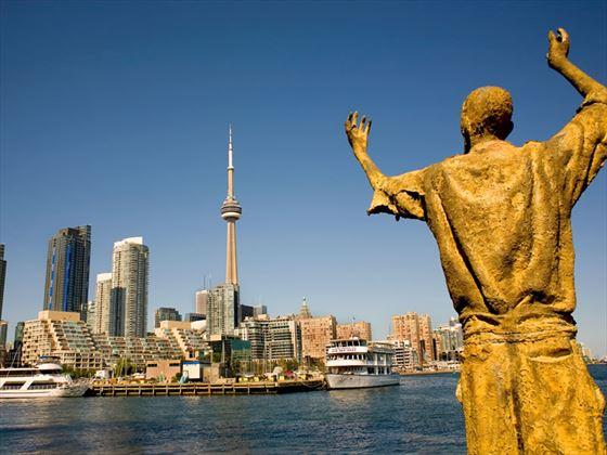 Toronto skyline, Ontario