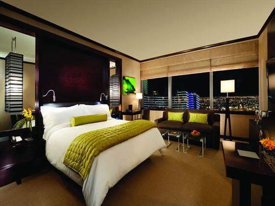 Deluxe King guestroom