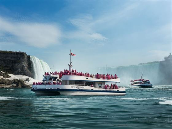 The legendary Niagara Falls boat tour experience