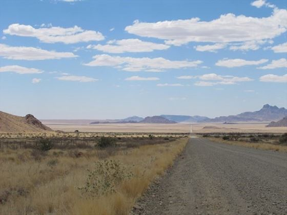 Stunning drives in Namibia