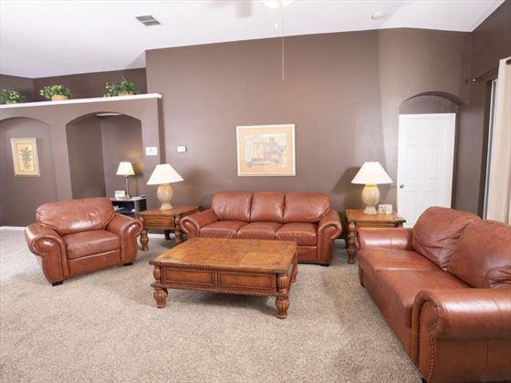 Example of Windsor Palms Home - Living Area