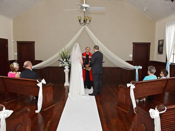 Winter Park Chapel ceremony