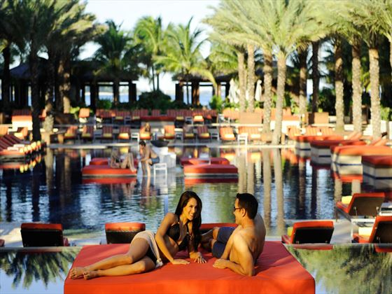Adults-only pool at Atlantis The Cove