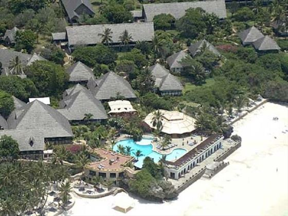 Aerial View of Leaopard Beach Resort & Spa