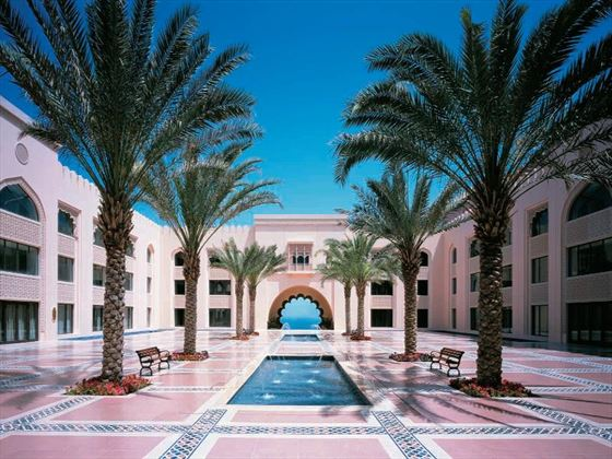 Al Husn courtyard at Shangri-La Barr Al Jissah Resort & Spa