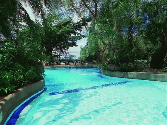 Amboseli Sopa Lodge swimming pool