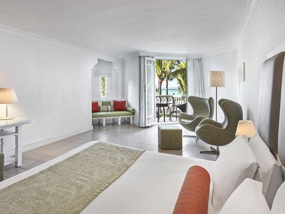 Sea Facing Room with Terrace at Ambre Resort & Spa