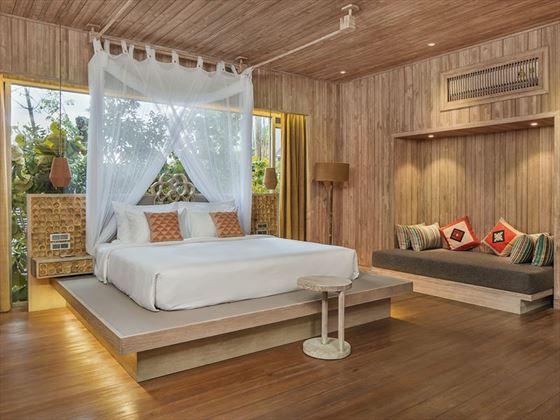 Jungle Rock Villa - Bedroom