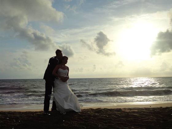 Bride & Groom at the Anantaya Resort and Spa