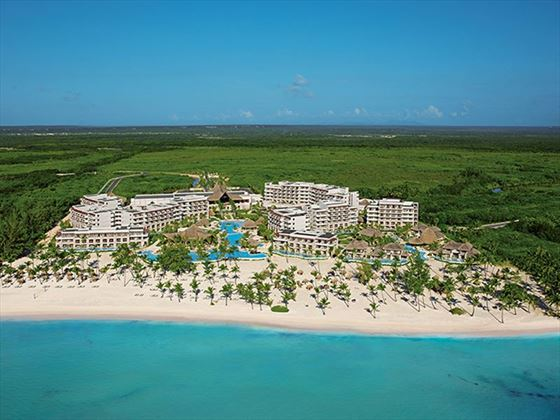 Aerial view of Secrets Cap Cana