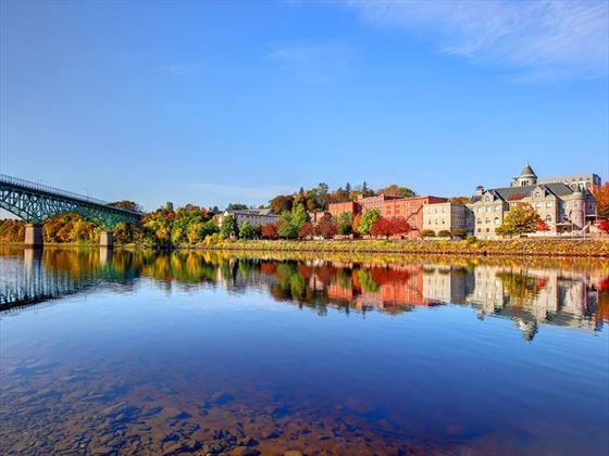 Augusta, Maine in the Fall