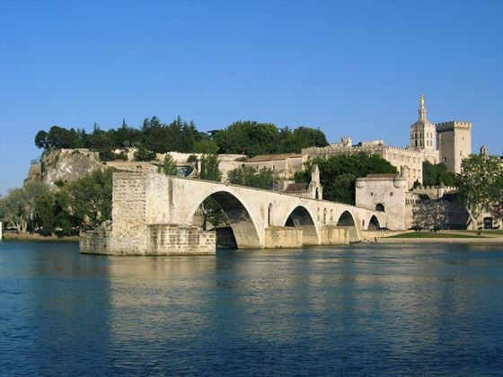 Avignon in the South of France