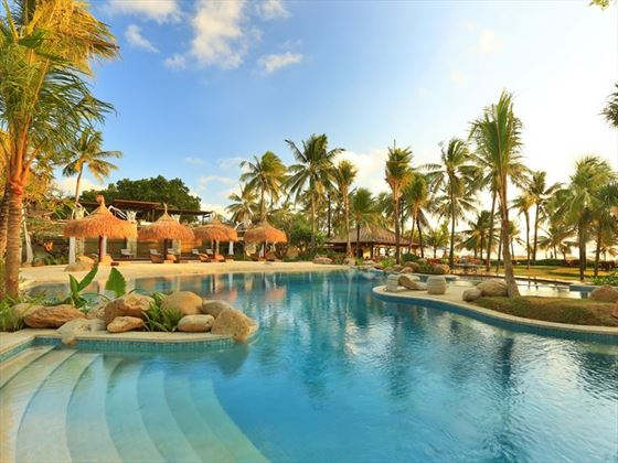 The main pool at Bali Mandira