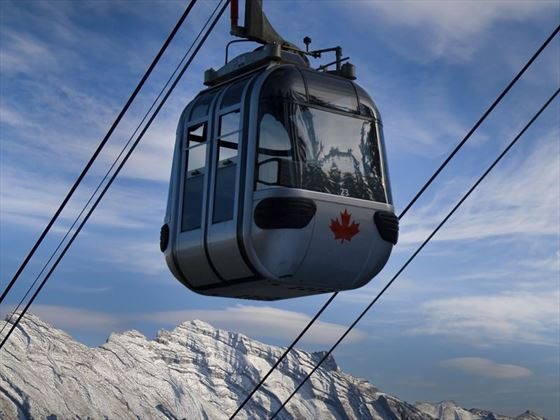 Mountain gondola