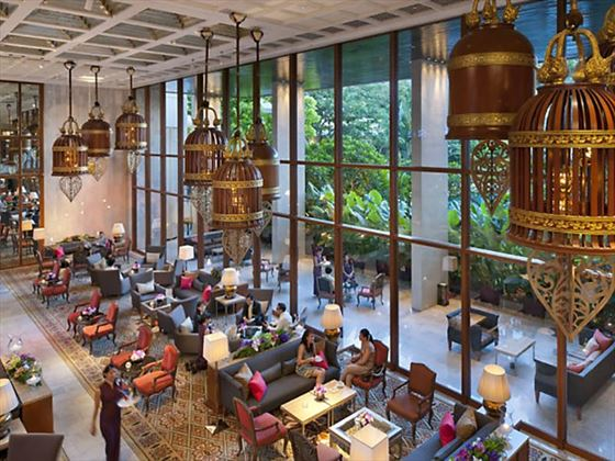 Hotel Lobby, Mandarin Oriental, Bangkok