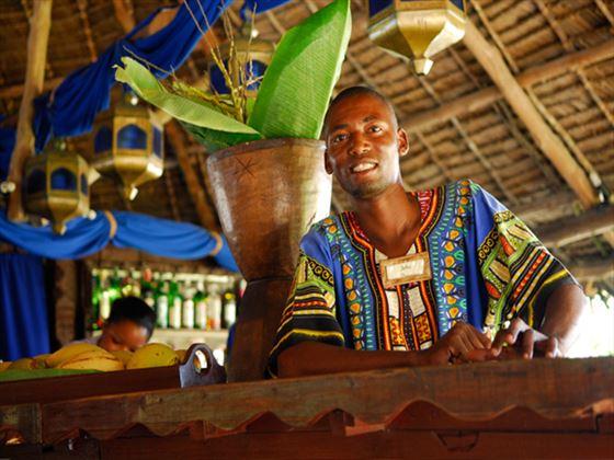 Bar at Breezes Beach Club & Spa