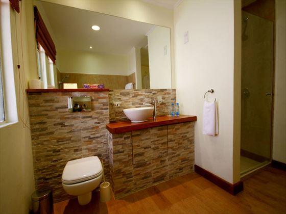 Bathroom at Aberdare Country Club