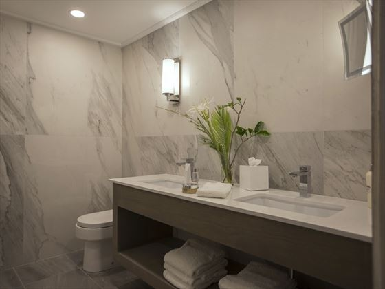 Newly Refurbished Bathrooms at Bougainvillea Beach Resort