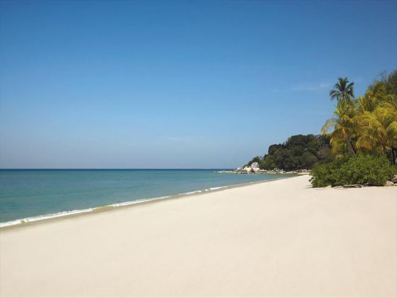 Batu Feringgi beach at Golden Sands Resort by Shangri-La