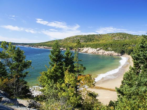 Beach in Acadia National Park, Maine