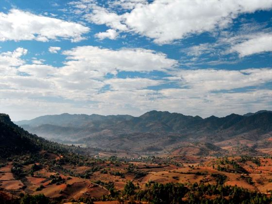 Beautiful landscape of Kalaw