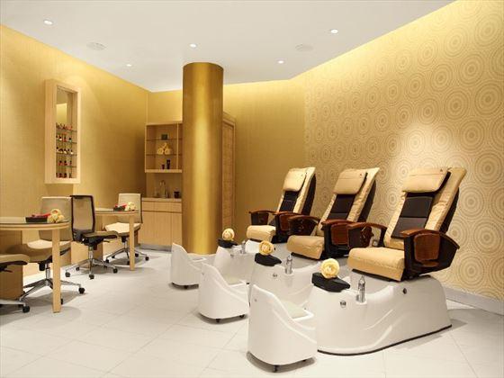 Beauty Treatment room at Millennium Resort