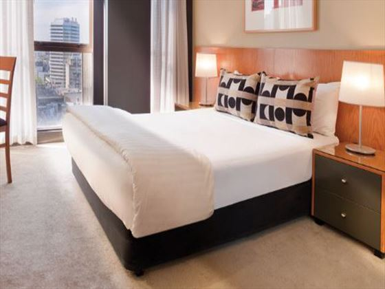 Bedroom at Adina Apartment Hotel Melbourne