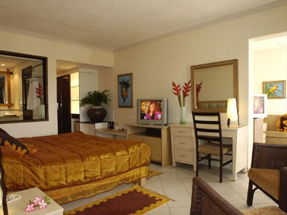 Bedroom at Diani Reef Beach Resort and Spa